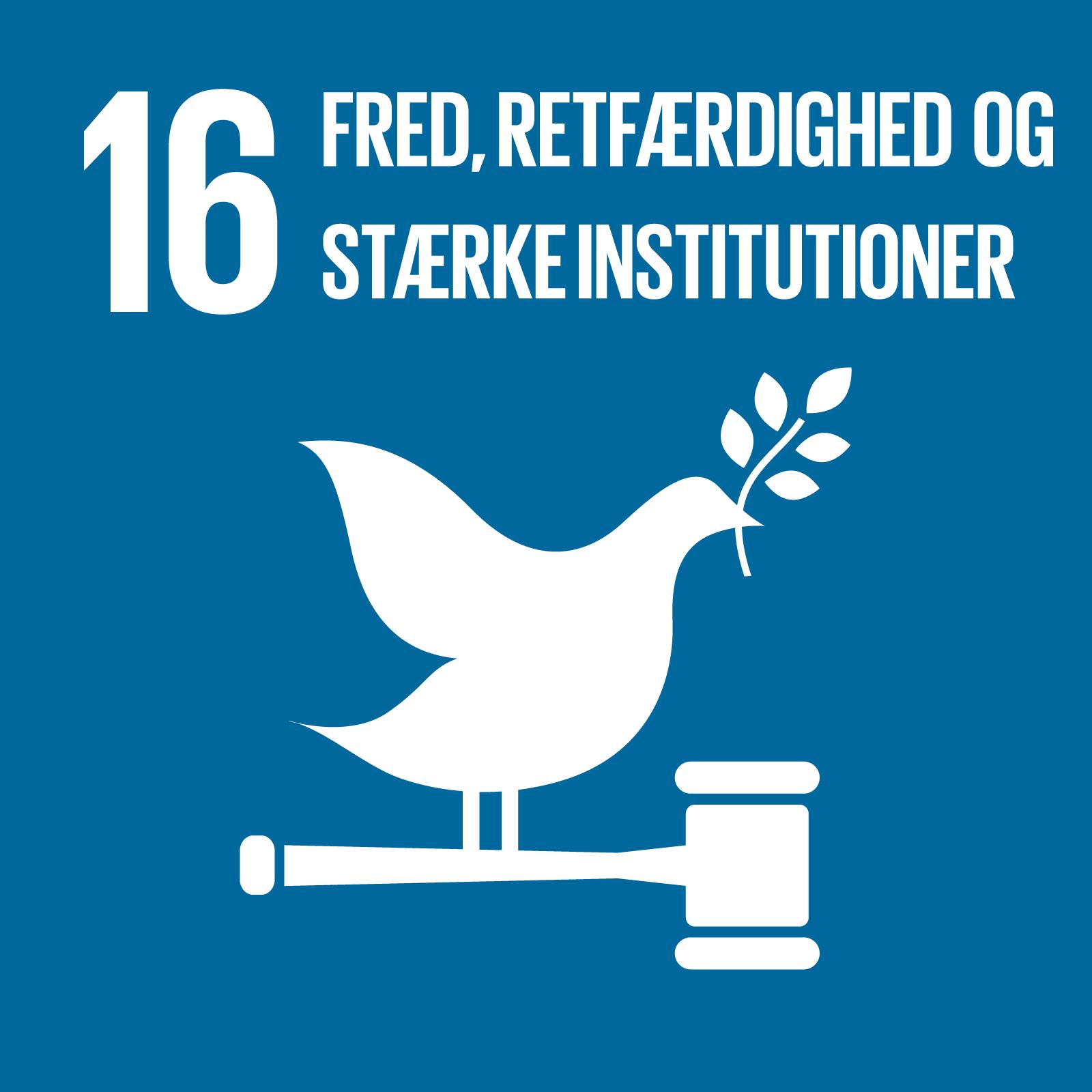Verdensmål 16 og adgang til rent drikkevand